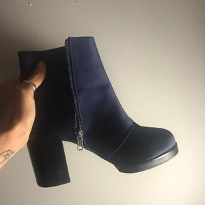 Asos ankle booties.